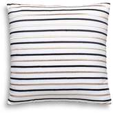 "Kate Spade Embroidered-Stripe Decorative Pillow, 18"" x 18"""