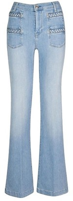 7 For All Mankind Georgia High-Rise Flared Jeans