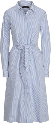 Ralph Lauren Cotton Broadcloth Shirtdress
