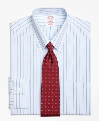 Brooks Brothers Madison Classic-Fit Dress Shirt, Non-Iron Bold Stripe