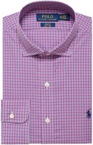 Polo Ralph Lauren Men's Slim Fit Plum Check Shirt