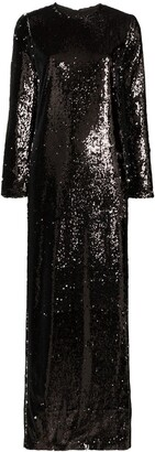 Marques Almeida Sequinned Maxi Dress