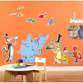 Generic Dr. Seuss Favorites Giant Wall Decal
