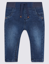 Marks and Spencer Cotton Jeans with Stretch