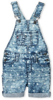 Vigoss Girls 4-6x) Starlight Acid Wash Denim Overalls