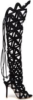 Sophia Webster 'Mila' thigh high boots - women - Leather/Suede - 41