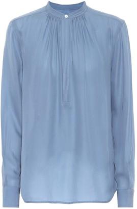 Polo Ralph Lauren Silk-blend blouse