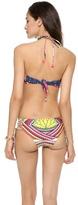Mara Hoffman Halter Bandeau Bikini Top