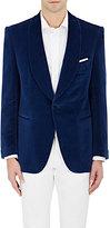 Cifonelli Men's Velvet One-Button Tuxedo Jacket