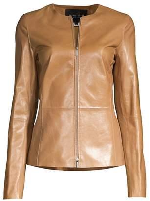 Lafayette 148 New York Kayla Leather Jacket