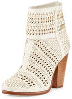 Rag & Bone Classic Newbury Woven Leather Bootie