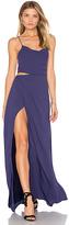 Style Stalker STYLESTALKER Nicolet Maxi Dress in Blue
