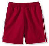 Classic Men's Piped Athletic Shorts-Red