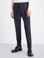 Bally Tapered wool-canvas jogging bottoms
