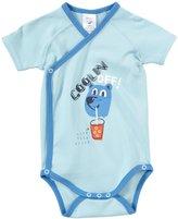 Zutano Coolin Off Wrap Body (Baby) - Bluebird-6 Months
