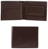 Jeff Banks Brown Leather Logo Wallet
