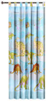 Dinosaur Tab Top Curtain Set