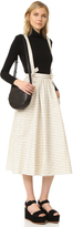 Mara Hoffman Full Skirt with Suspenders