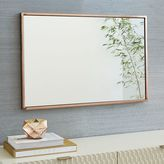west elm Metal Framed Wall Mirror