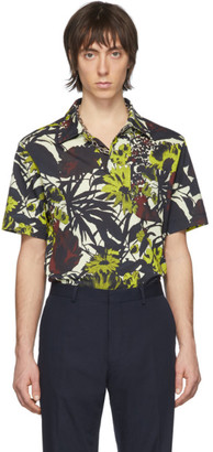 Dries Van Noten Multicolor Floral Pocket Polo