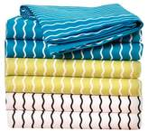 Crayola Serpentine Stripe Cerulean Sheet Set