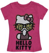 "Hello Kitty Little Girls' Toddler ""Leopard Shades"" T-Shirt"