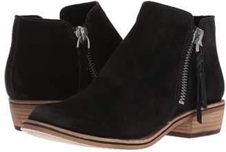 Dolce Vita Sutton (Black Suede) Women's Shoes