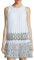 Christopher Kane Pleated Sleeveless Top