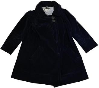 Marc by Marc Jacobs Blue Velvet Coat for Women