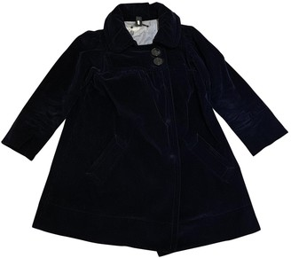 Marc by Marc Jacobs Blue Velvet Coats