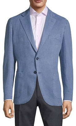 Lubiam Washed Cotton Unconstructed Sportcoat