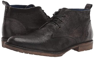 Bed Stu Rayburn (Olive Rustic Suede) Men's Shoes