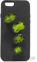 Stella McCartney Crystal-embellished Silicone Iphone 6 Case - Black