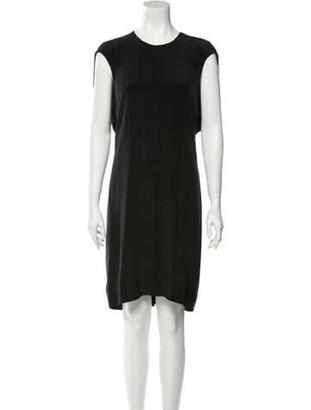 Alexander Wang Silk Knee-Length Dress w/ Tags Black