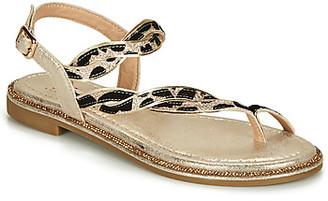 Elue par nous GIBUS women's Sandals in Gold