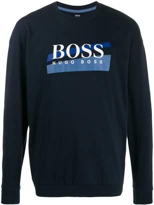 BOSS logo print sweatshirt