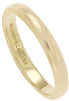 Tiffany & Co. and Co. 18K Yellow Gold Wedding Ring Size 12.5