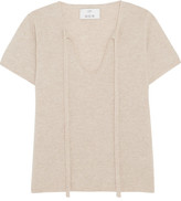 Allude Cashmere Top - Beige