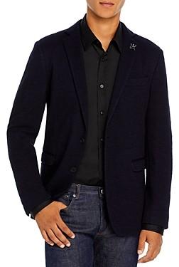 John Varvatos Slim Fit Varick Textured Jersey Sport Coat