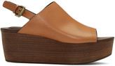 See by Chloe Tan Romy Platform Sandals