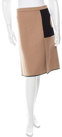 Derek Lam Wool & Cashmere-Blend Skirt w/ Tags