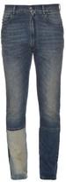 Maison Margiela Patchwork-leg Slim-fit Jeans