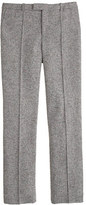 J.Crew Cropped Donegal wool pant