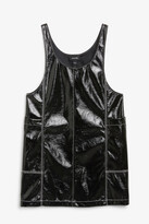 Monki Sleeveless vinyl dress