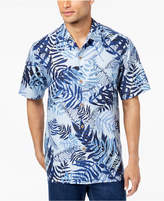 Tommy Bahama Men's Glade Tropics Botanical-Print Silk Shirt