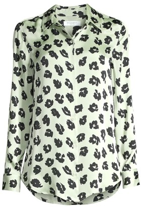 Equipment Essential Floral Blouse