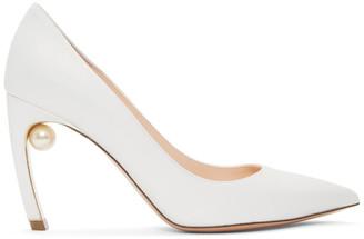 Nicholas Kirkwood White Pearl Mira Heels