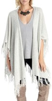 Sole Society Fringe Knit Wrap