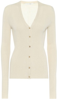 The Row Exclusive to Mytheresa Linny silk cardigan