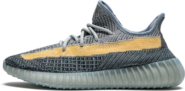 Adidas Yeezy Boost 350 V2 'Ash Blue' Shoes - Size 4